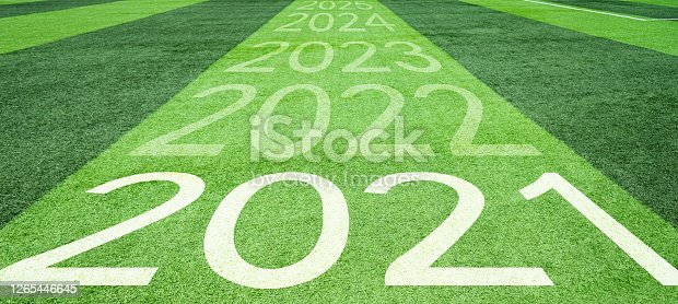 Number of 2021 to 2025 soccer field