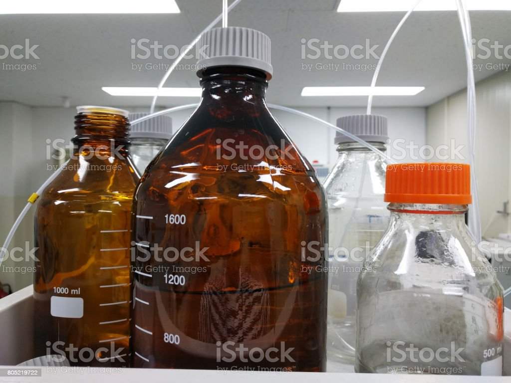 A number of reagent stock photo