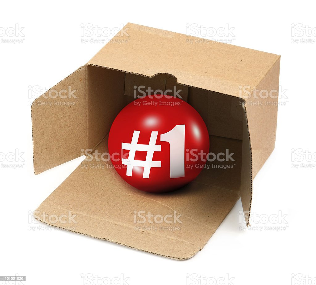 Number one concept royalty-free stock photo