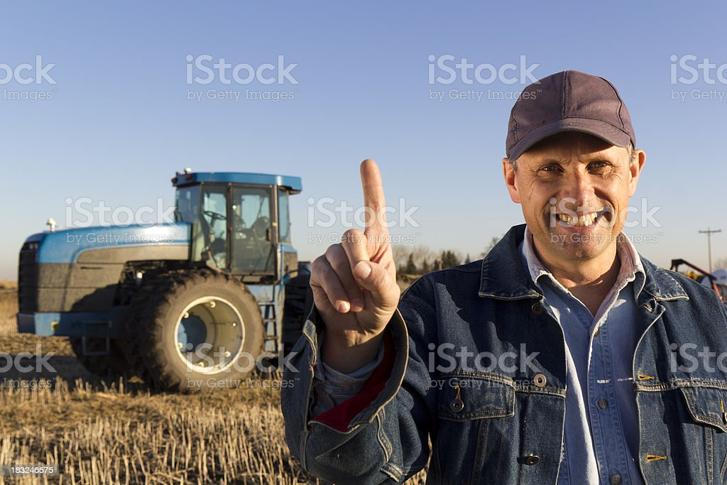 Number One in Farming stock photo