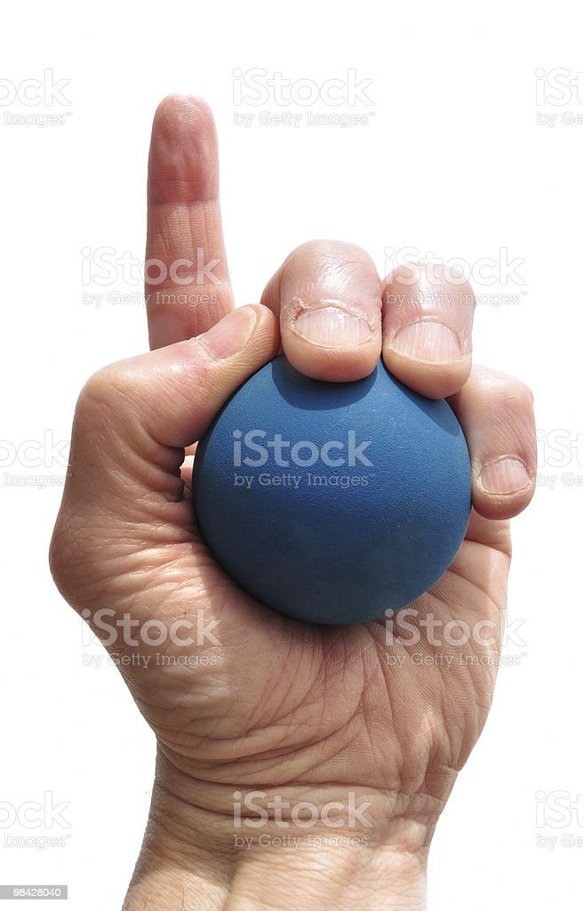 Number One Racquetball Player royalty-free stock photo