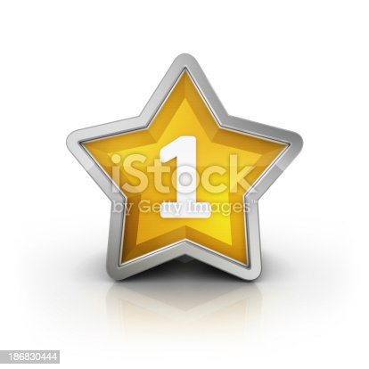 istock number one star 186830444