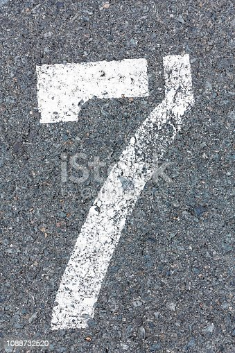 istock number sign, creative abstract design background photo 1088732520