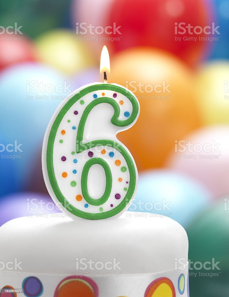 number six stock photo