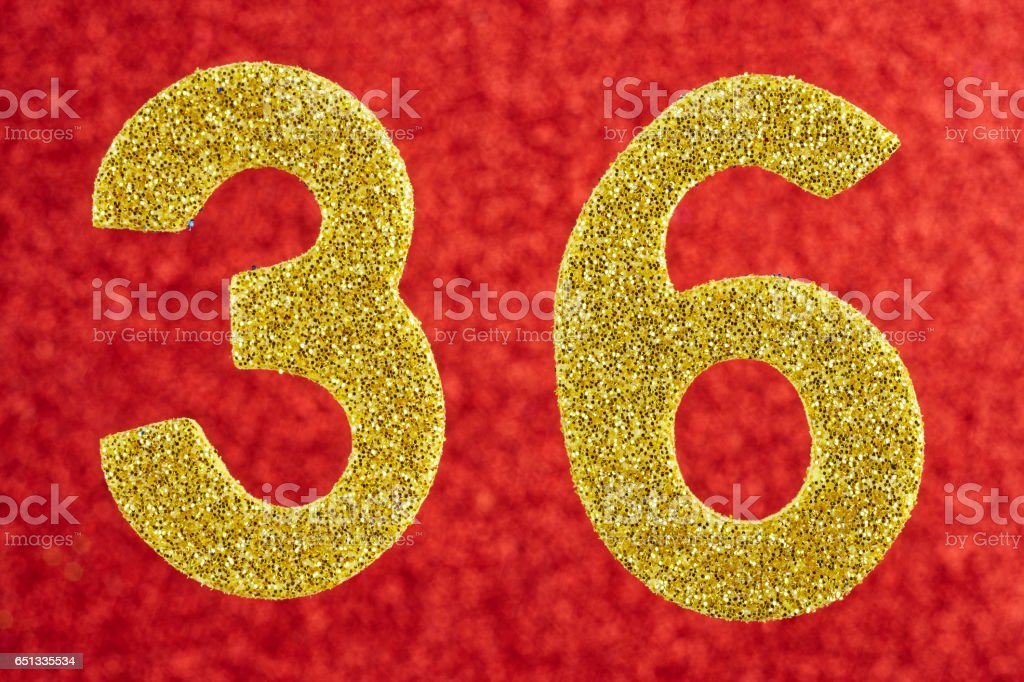 Best Number 36 Stock Photos  Pictures  U0026 Royalty