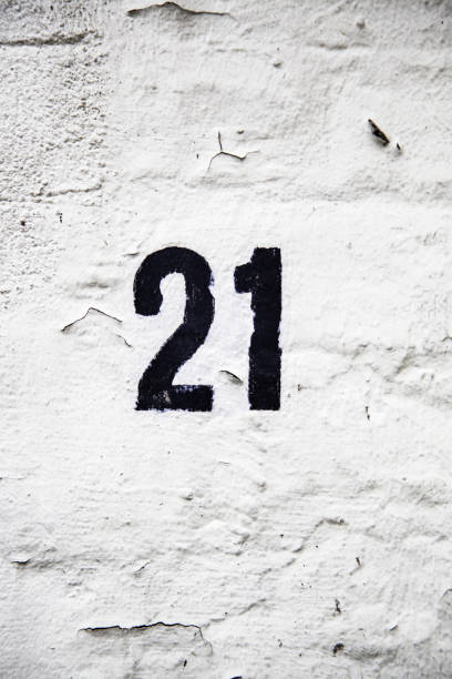 number twenty-one information - number 21 stock photos and pictures