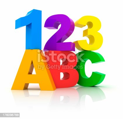 istock Numbers and Letters 176098788