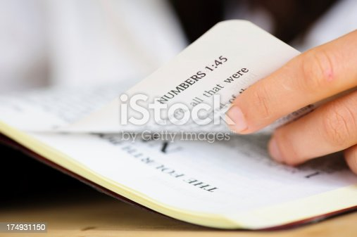 817147678 istock photo Numbers Book from Bible. 174931150