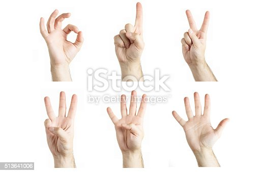 466657402 istock photo Numbers by human hand gesture 513641006
