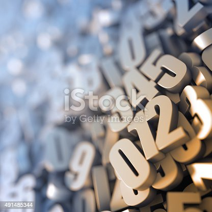istock Numbers close up 491485344