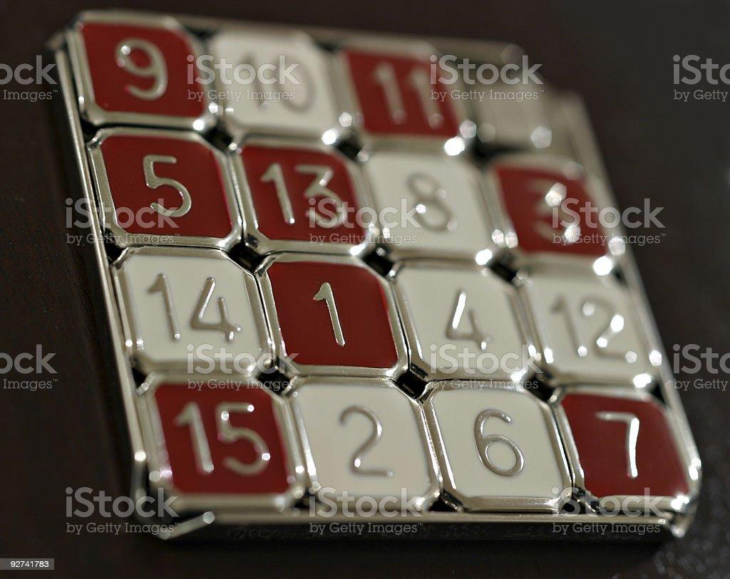 - Nummern Spiel Lizenzfreies stock-foto