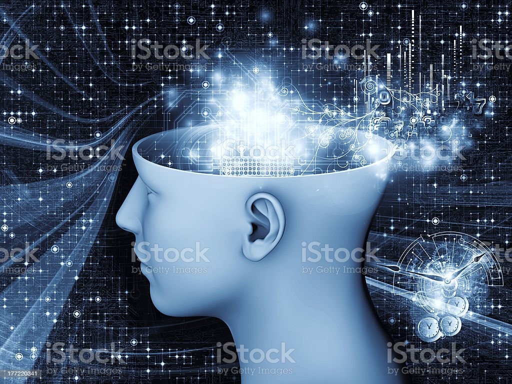 Numbers of the Mind royalty-free stock photo
