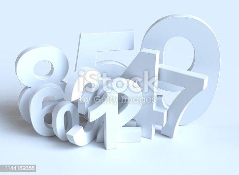 istock Numbers 1144189358