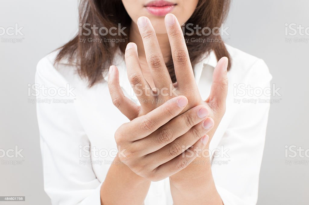 Numbness stock photo
