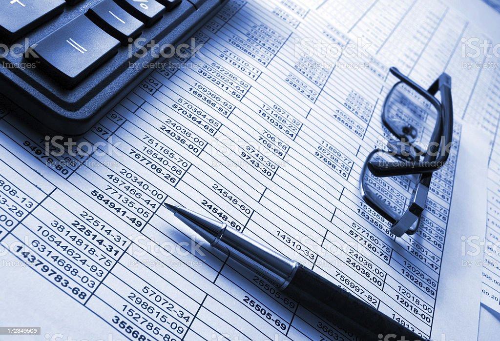 Numerales y Finanzas foto de stock libre de derechos