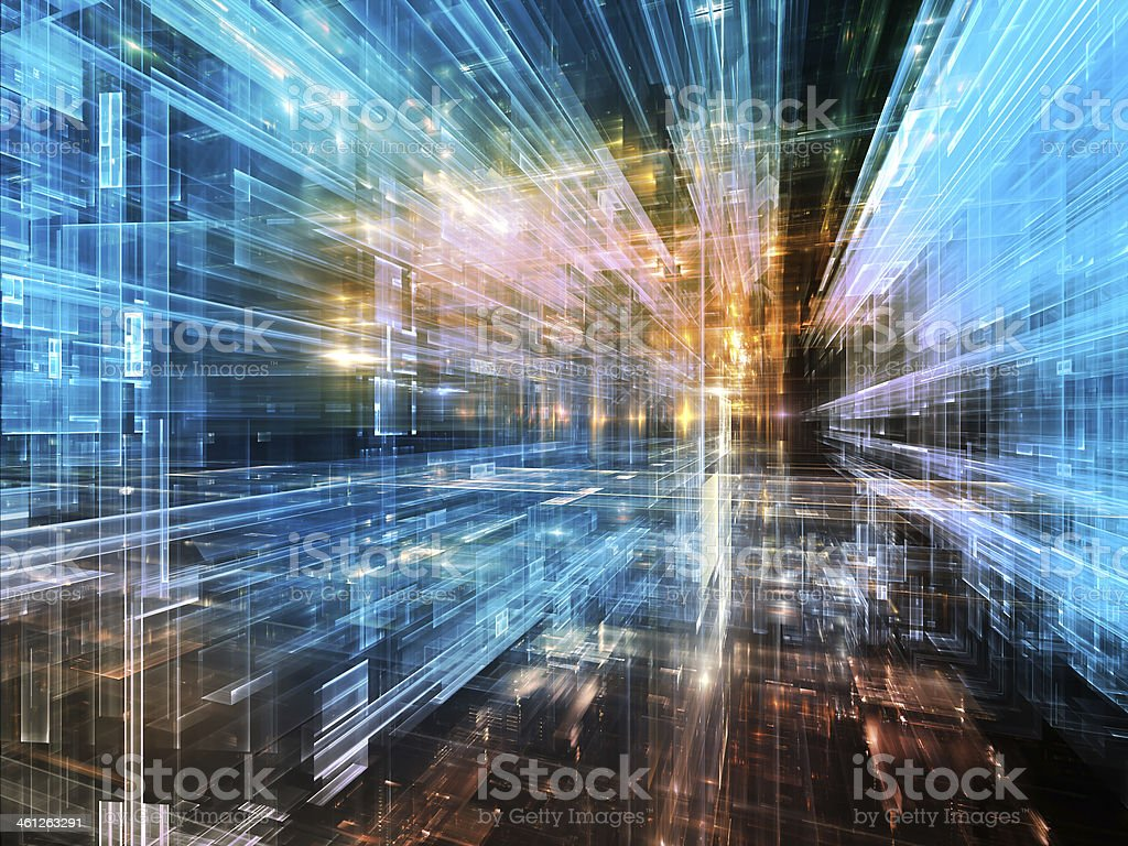 Numeric City stock photo