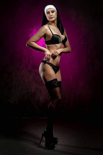 cb733547d8d Top 60 Sexy Nun Lingerie Stock Photos