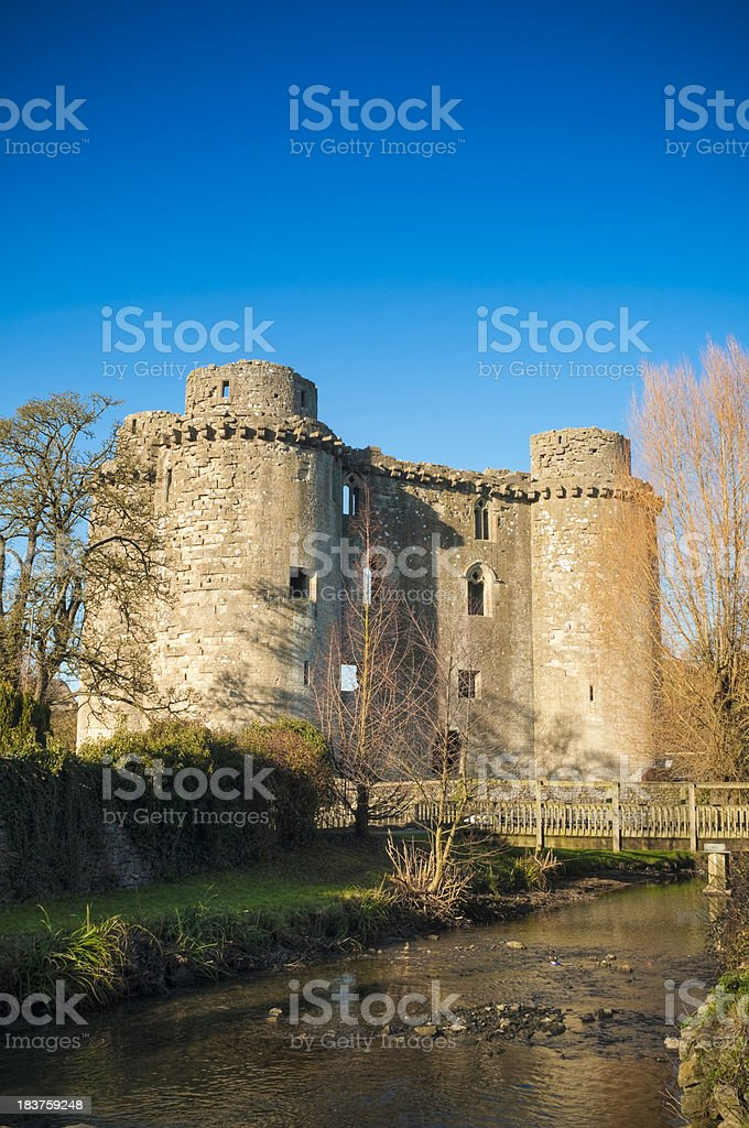 Nunney Castle, Frome, Somerset, UK stock photo