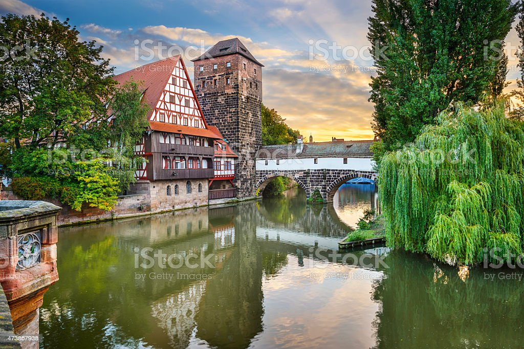 Nuremberg Germany Landmarks stock photo