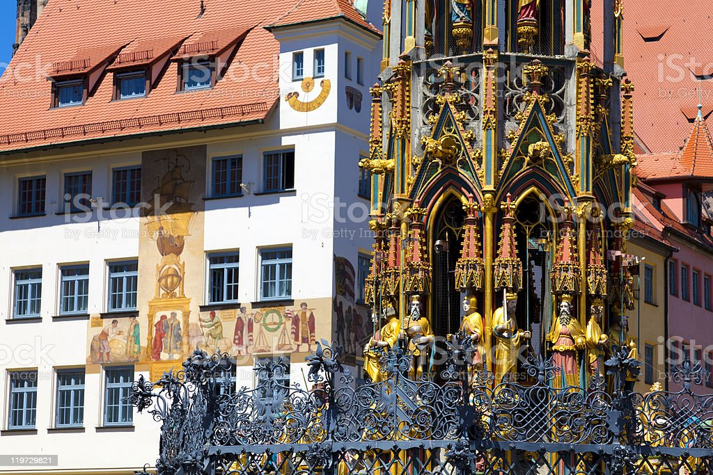 Nuremberg (Nürnberg), Germany royalty-free stock photo