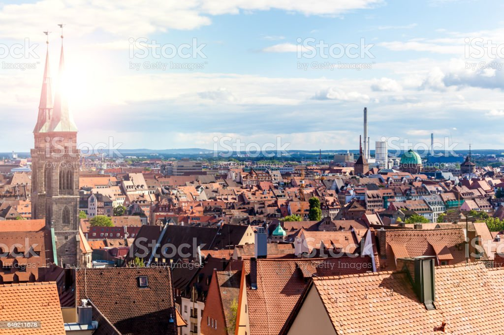 Nuremberg in Germany stock photo