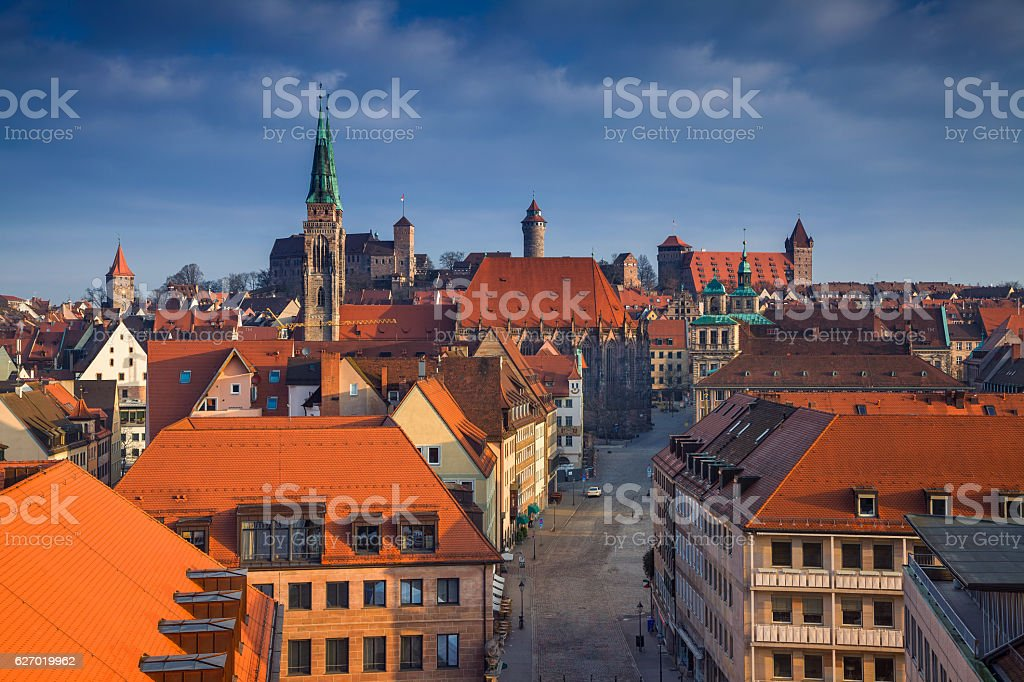 Nuremberg. stock photo