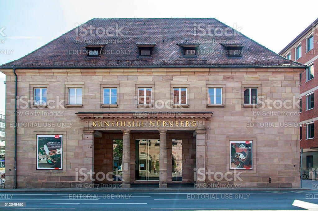 Nuremburg Art Gallery, Germany, 2015 stock photo