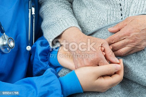 667827758 istock photo Nurising Assistant,A Helping Hand 939341788