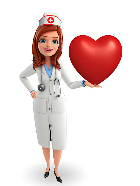 Nurse character with heart pose picture id503529961?b=1&k=6&m=503529961&s=612x612&w=0&h=yrmelokbh2fpkyem6rns1ier0kzlwt thj lbp5 alg=
