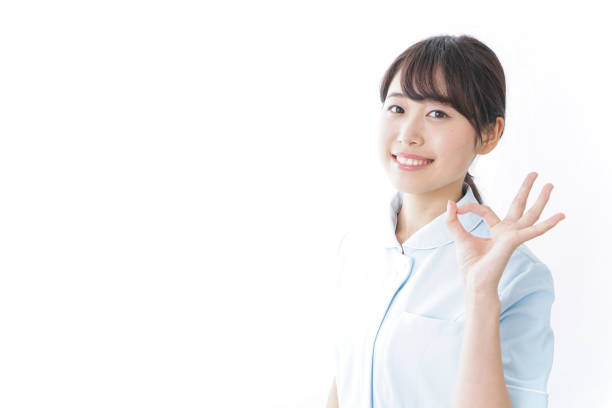 Woman with ok sign stock image. Image of lady, happy
