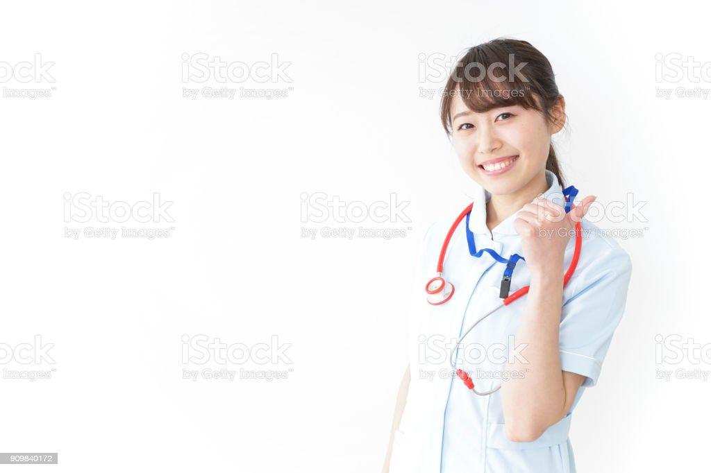 看護師与える ok サイン - 1人のロイヤリティフリーストックフォト