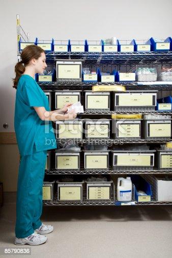 Hospital, ICU, Intensive Care Unit, Supply Room