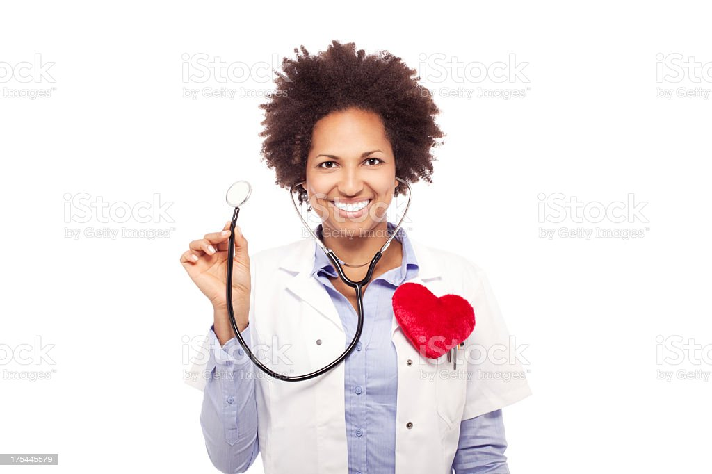 Nurse or Doctor Woman royalty-free stock photo