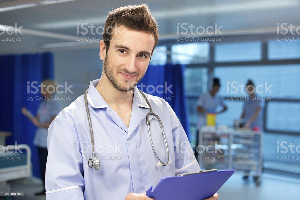 nurse portrait royalty-free stock photo