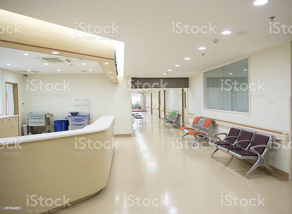 Krankenschwester station Lizenzfreies stock-foto