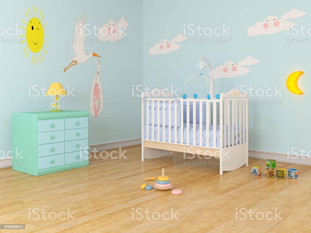 Baby Kinderzimmer – Foto