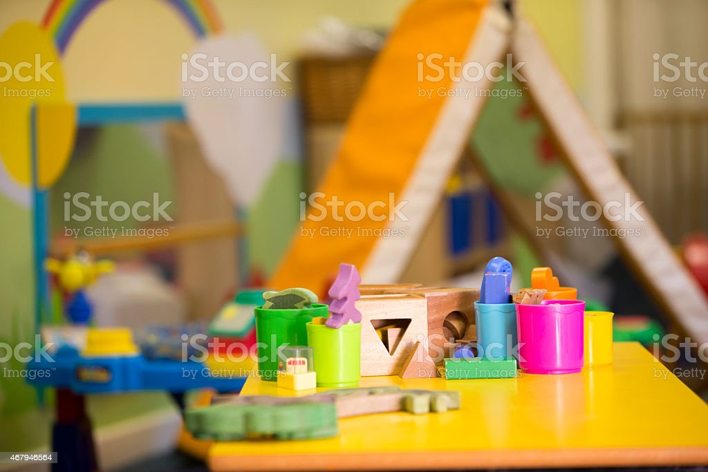 Nursery Class stock photo