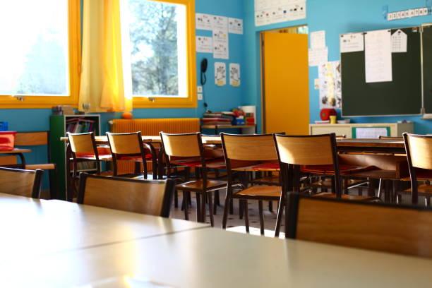 nursery classroom stock photo