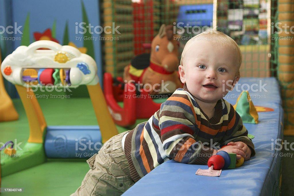 Nursery Playtime royalty-free stock photo