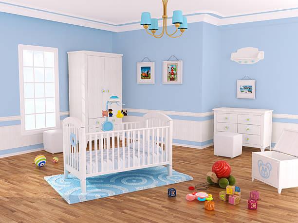 Kinderzimmer Zimmer (blau – Foto