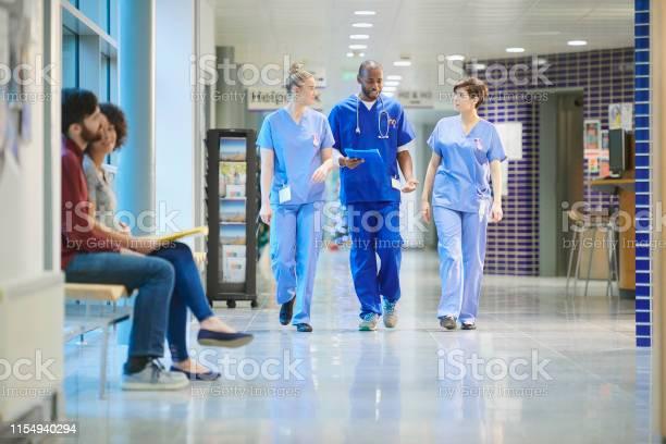Nurses chatting on the way to ward picture id1154940294?b=1&k=6&m=1154940294&s=612x612&h=n nhphdknsp1uozefcxd4eghv3ga43fwn0mfjrxtq0s=