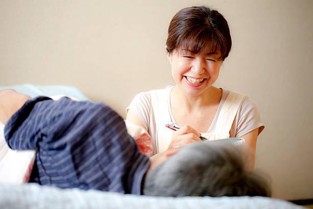 ホーム施設 - 高齢者介護 ストックフォトと画像