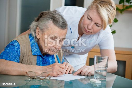 Nursing Home Stock Photo & More Pictures of 80-89 Years
