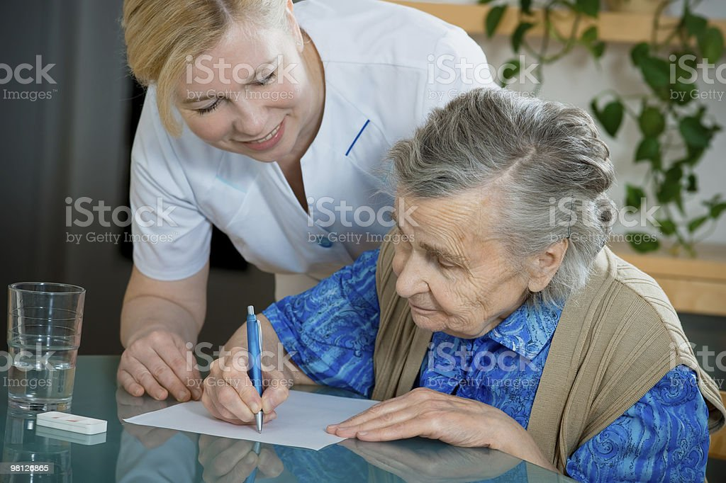 nursing home royalty-free stock photo