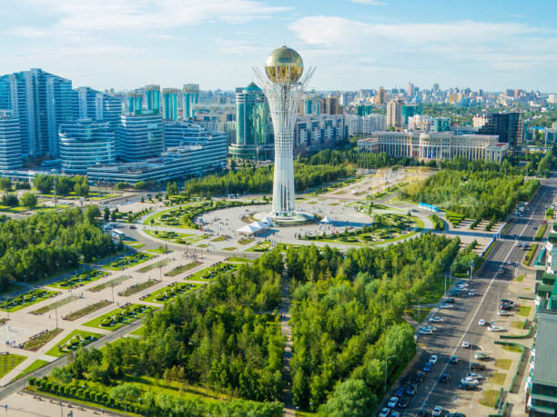 Nur-Sultan, Kazakhstan stock photo