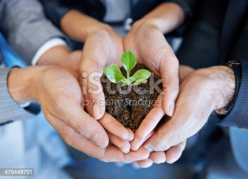 istock Nurturing the business together 475449701