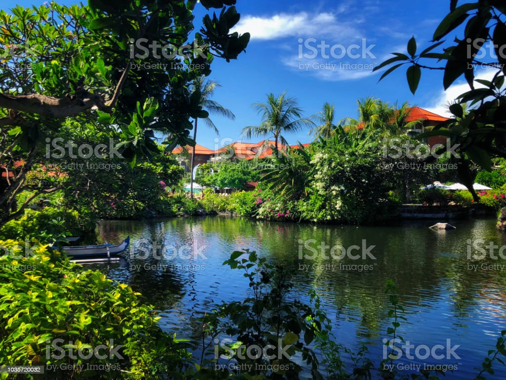 Nusa Dua Resort In Bali Indonesia Nature Vacation Background