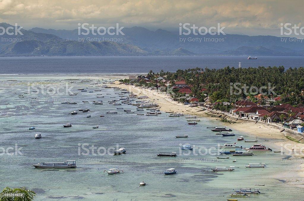 Nusa Lembongan in Bali stock photo
