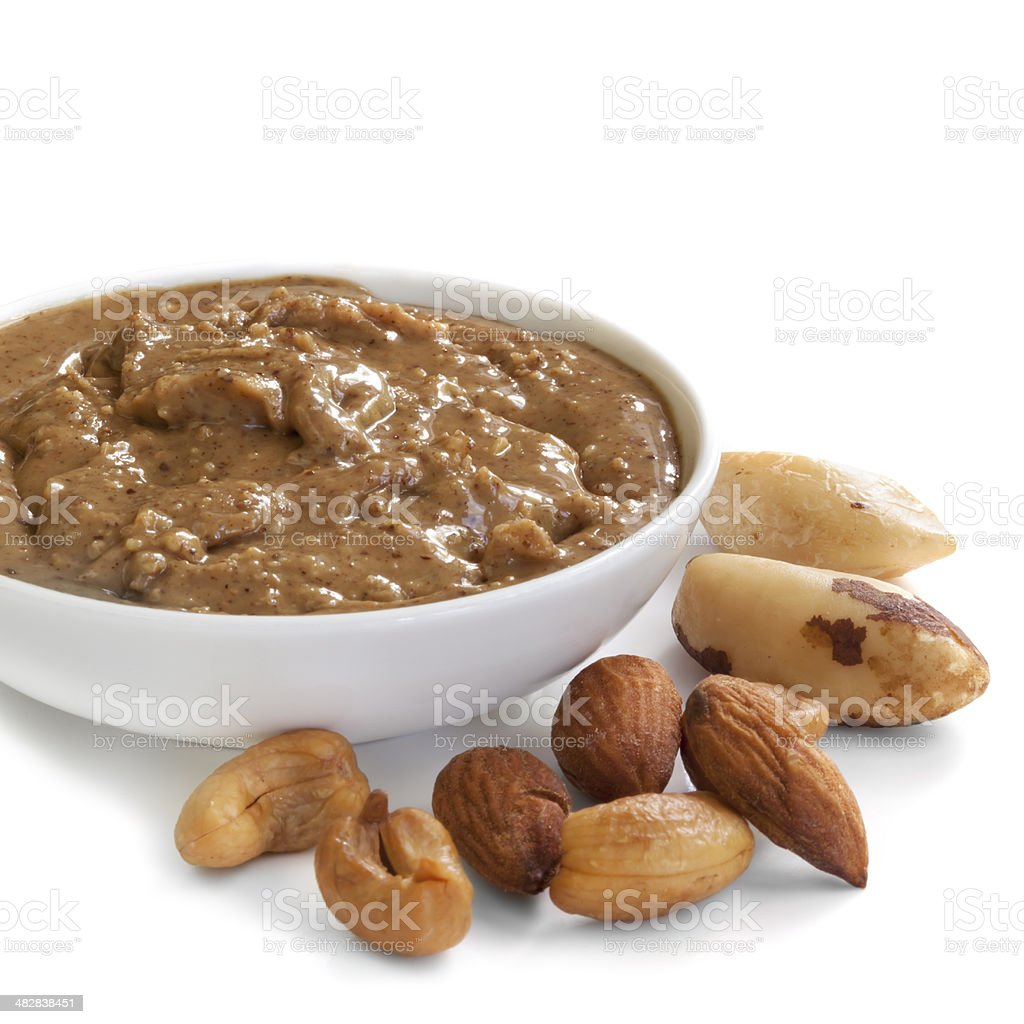 Nut Spread stock photo