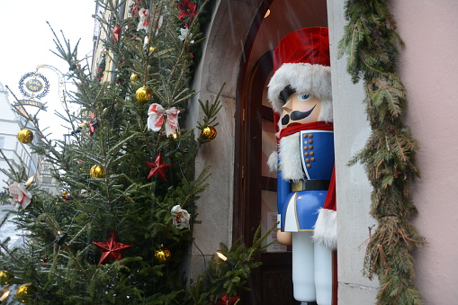 Nutcracker figure Christmas decoration